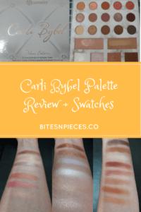 Carli Bybel Eyeshadow + Highlighter Palette