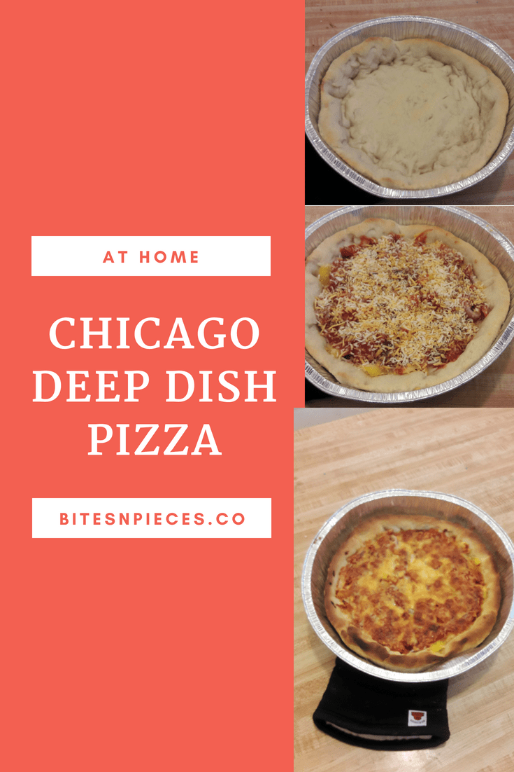 Chicago Deep Dish Pizza at Home