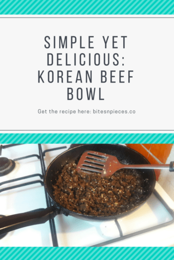 You are currently viewing Simple Yet Delicious: Korean Beef Bowl