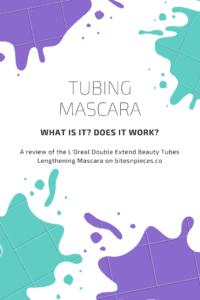 Tubing Mascara? What is that?