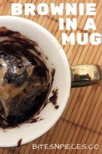 Brownie in a mug pinterest image 2
