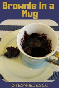 Brownie in a Mug (Microwave Mug Cake)
