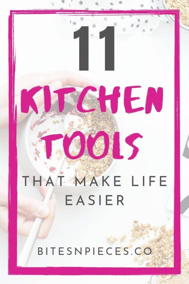 kitchen tools that make life easier pinterest graphic 1.