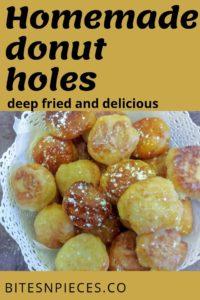Best homemade donut holes pinterest image 2.