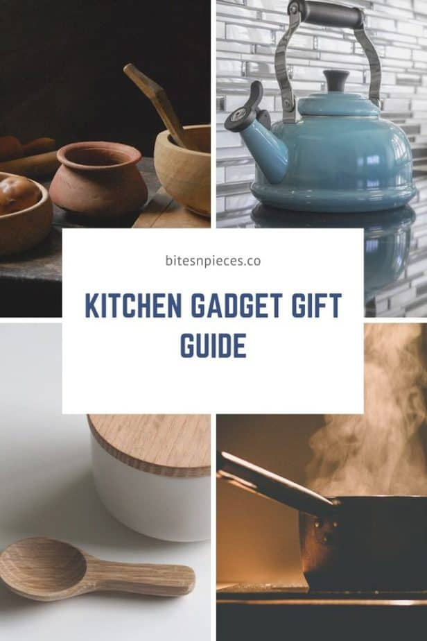 kitchen gadget gift guide pinterest image.