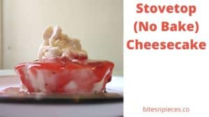 Read more about the article Stovetop (No Bake) Cheesecake