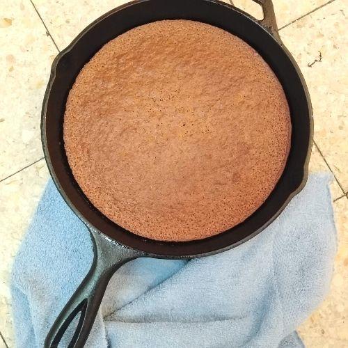 Honey Cake Recipe {In a Cast Iron Skillet}