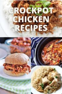 Crockpot chicken recipes pinterest image 2.